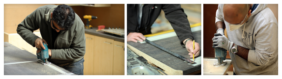 Worktop fitting course 3 days Kitchen design and fitting courses