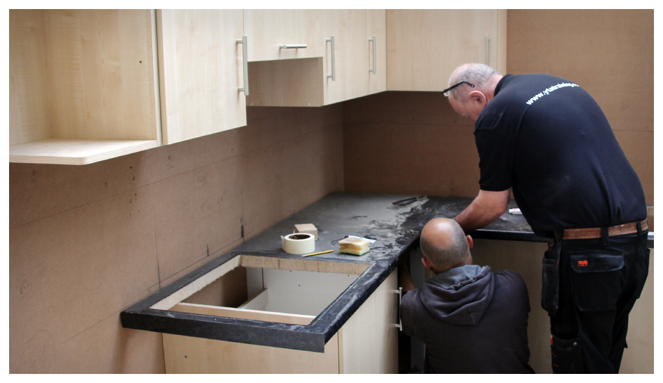 Introductory kitchen fitting course Kitchen design and fitting courses