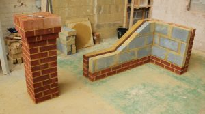 Bricklaying NVQ Level 2 inside view