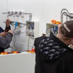 Understanding electrics on the domestic installer course