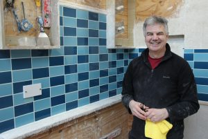 A happy tiler